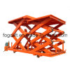 2016 New Design Goods Vertical Hydraulic Guide Rail Lift