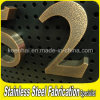 Customed Oudoor Advertising Metal Etched Stainless Steel 3D Letter Sign