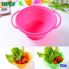 Facotry Supplier Collapsible Colander Washing Basin Silicone Bowl