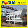 Automatic Mobile Concrete Batching Plant 35m3/H, Moving Concrete Mixing Plant
