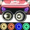 7'' Inch LED/HID Headlight for Jeep Wrangler Tj Jk Hummer