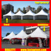 Best Aluminum Pinnacle Tent for Event 6X6m 6m X 6m 6 by 6 6X6 6m 60 People Seater Guest