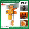 Elk 5ton Electric Chain Hoist Clutch Type with Electric Trolley (HKDM0502S)