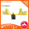 Top Selling Community Seesaw Plastic Baby Horse Rides