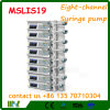 Eight Channel Infusion Syringe Pump Mslis19