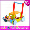 2016 New Design Baby Walker Toy, Multi-Function Wooden Cart Toy, High Quality Baby Walker Toy W16e021