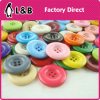 Classic Design Multicolored Plastic Coat Button for Lady Clothing