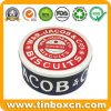 Large Cream Cracker Tin Box for Biscuits, Cookies Tin Container