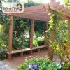 Top-Selling WPC Material Wooden Pergola Witj Decking System for Outdoor