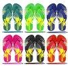 OEM Custom Logo Men's and Women's Children's Flip-Flops Beach Slippers Hot Sale Cheap PVC Upper Shoes