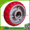 Polyurethane Mold on Cast Iron Wheel for Industrial Castor