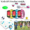 Colorful Kids GPS Tracker Watch with Sos Button (Y9)