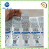 Customized Service Barcode Print Self-Adhesive Paper Label Printing Sticker (jp-s173)