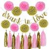 Umiss Paper Bridal Shower Bachelorette Valentains Wedding Party Birthday Decoration