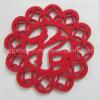 Hot Selling Christmas Decoration Polyester Felt Coaster (Coaster-29)