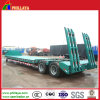 Dual 2 Axles 30-40tons Lowboy Truck Low Bed Semi Trailer
