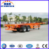 Used to Transport Container 3 Axles Skeleton Semi-Trailer