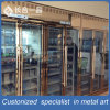 Customized 8k Mirror Rose Gold Stainless Steel Wine Cellar Cabinet