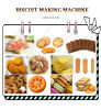 High Quality and Good Taste Machines to Make Biscuits Line for Sale