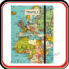 Custom Printing Hardcover Travel Journal Map Notebook