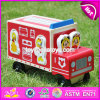 New Design Cartoon Wooden Car Toys for Kids W04A287