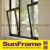 Aluminium Bottom Hinged Window for Interior Use