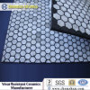 92% Alumina Oxide Hex Tiles Imbedded Into Rubber