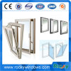 Aluminum Water Proofing Air Conditioner Double Glass Window