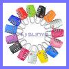 Color Mini Travel Luggage Tsa Customs Lock Resettable 3 Digit Combination Padlock Password Suitcase (TSA-01)