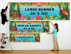 Outdoor Custom Printing Advertising Vinyl PVC Advertising Display Hanging Sports Banner