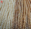 9-10mm Round Cultured Freshwater Pearls Strands