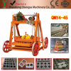 Qmy4-45 Manual Mobile Cement Hollow Brick/Solid Brick Making Machine