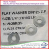 Galvanized Washer DIN125 for Bolts