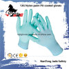 Hot Sales 13G Nylon Palm PU Coated Work Glove
