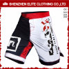 Wholesale Black White Men′s Custom Sublimated MMA Fight Shorts (ELTMMJ-140)