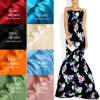 Manufacture Custom 40mm Printed Silk Charmeuse Fabric for Lady Evening Wear