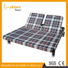 Wicker/Rattan Outdoor Garden Furniture Beach Daybed Adjustable Back Love Seat Lounge Chair