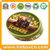 Oval Tin Box, Metal Tin Can Packaging, Gift Toy Tin