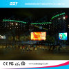 Seamless 4.81m Front Service LED Display Outdoor, LED Big Screen Die Casting Aluminum