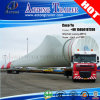 Road Transporting Over Length Extendable 40 Meters Wind Blade Semi Trailer