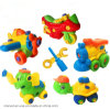 Early Learning DIY Motorcycle Cars Children Educational Toys Plastic 3D Puzzle