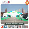 Hot Sale Green Color Exhibition Halls with Printing