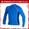 Custom Made Top Quality Blue Mens Rash Guards (ELTRGI-7)