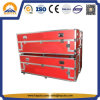 Long Red Aluminum ATA Flight Transport Case (HF-1701)