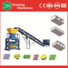 8.8kw Paver Hollow Block Making Machine for House Building (QTJ40-1)