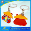 Cheap Customized Cartoon Metal Key Ring for Promotion/Souvenir