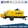 Mobile Putzmeister Trailer Foam Hydraulic Concrete Truck Pump Machine with Mixer