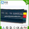 Rubber Submersible Pump Electrical Cable Flat Cable