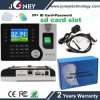 Hot Selling P2p Biometric Fingerprint Time Recorder with SD Card Slot, RFID Card Reader