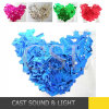 Colorful Decorative Confetti in Different Shapes for Wedding Decoration